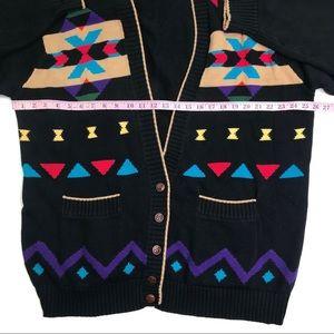Vintage Sweaters - Vintage Super Dope Oversized Cardigan Sweater